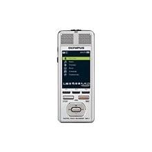 Olympus DM-720 - Digital voice recorder - flash 4 GB - WMA, MP3